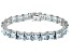 Bella Luce ® 69.00ctw White Diamond Simulant Sterling Silver Bracelet 7.25