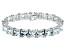 Bella Luce ® 92.00ctw White Diamond Simulant Sterling Silver Bracelet 7.25
