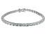 Bella Luce ® White Diamond Simulant Sterling Silver Bracelet 7.25