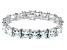 Bella Luce ® 113.00ctw White Diamond Simulant Sterling Silver Bracelet 7.25