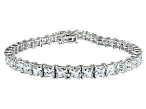 Bella Luce ® 22.40ctw White Diamond Simulant Sterling Silver Bracelet
