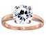 Bella Luce 4.45ct Round Diamond Simulant 18k Rose Gold Over Sterling Silver Ring