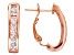 Bella Luce® 2.08ctw 18k Rose Gold Over Sterling Silver J-Hoop Earrings