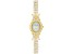 Cubic Zirconia 18K Yellow Gold Over Sterling Silver Watch 20.84ctw.