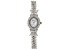 Cubic Zirconia Sterling Silver Watch 20.84ctw.