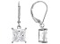 White Cubic Zirconia Rhodium Over Sterling Silver Earrings 7.02ctw