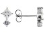 White Cubic Zirconia Rhodium Over Sterling Silver Earrings 1.35ctw