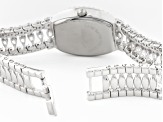 Ladies Round And Marquise 25.1ctw Mop Sterling Silver Watch