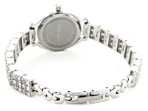 ladies round 7.96CTW mop sterling silver watch