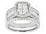 Cubic Zirconia Sterling Silver Ring 1.95ctw