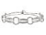 White Cubic Zirconia Rhodium Over Silver Bracelet 5.88ctw