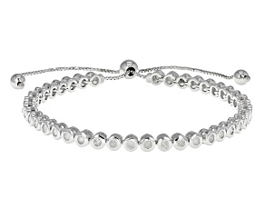 Diamond Sterling Silver Bracelet 1.50ctw