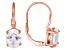 Bella Luce ® 8.10ctw Oval 18k Rose Gold Over Sterling Silver Lever Back Earrings