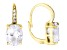 Bella Luce ® 8.77ctw Oval And Round 18k Yellow Gold Over Sterling Silver Lever Back Earrings