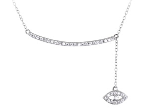 Bella Luce ® 0.64ctw Rhodium Over Sterling Silver 16