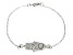 Bella Luce ® 1.12ctw Rhodium Over Sterling Silver 7.5