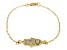 Bella Luce ® 1.12ctw 18k Yellow Gold Over Sterling Silver 7.5