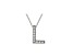 Bella Luce ® .26ctw Round Rhodium Over Sterling Silver Block Letter L Necklace
