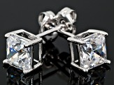 Bella Luce ®  2.34ctw White Cubic Zirconia Platinum Over Sterling Silver Stud Earrings