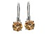 Bella Luce ® 4.35ctw Rhodium Over Sterling Silver Earrings