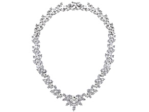 Bella Luce ® Rhodium Over Sterling Silver Necklace