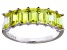 Bella Luce® 3.50ctw Emerald Cut Yellow Diamond Simulant Sterling Silver Ring