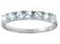 Bella Luce® 1.26ctw Round White Diamond Simulant Sterling Silver Ring