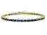Bella Luce® 9.00ctw Esotica Tanzanite Simulant 18k Gold Over Silver Bracelet