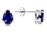 Bella Luce® Esotica™ Tanzanite Simulant Rhodium Over Silver Earrings