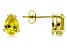 Bella Luce® Yellow Diamond Simulant 18k Yellow Gold Over Silver Earrings