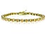 Bella Luce® 13.75ctw Champagne Diamond Simulant 18k Gold Over Silver Bracelet