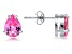 Bella Luce® 2.75ctw Pink Diamond Simulant Rhodium Over Silver Earrings