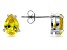 Bella Luce® 2.75ctw Yellow Diamond Simulant Rhodium Over Silver Earrings
