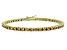 Bella Luce® 9.00ctw Champagne Diamond Simulant 18k Gold Over Silver Bracelet