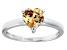 Bella Luce® 1.92ct Champagne Diamond Simulant Rhodium Over Silver Ring