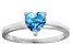 Bella Luce® 1.25ct Apatite Simulant Rhodium Over Silver Solitaire Ring