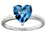 Bella Luce® 2.90ct Apatite Simulant Rhodium Over Silver Solitaire Ring