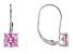 Bella Luce® 3.13ctw Pink Diamond Simulant Silver Leverback Earrings