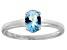 Bella Luce® 1.3ct Oval Apatite Simulant Rhodium Over Silver Solitaire Ring