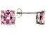 Bella Luce ® 7ctw Cushion Pink Diamond Simulant Rhodium Over Silver Earrings