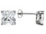 Bella Luce ® 7ctw Cushion Diamond Simulant Rhodium Over Silver Earrings