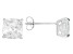 Bella Luce ® 5ctw Cushion Diamond Simulant Rhodium Over Silver Earrings