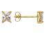 Bella Luce® 1.28ctw Emerald Cut Diamond Simulant 18k Over Silver Earrings