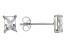 Bella Luce® 1.28ctw Emerald Cut Diamond Simulant Rhodium Over Silver Earrings