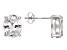 Bella Luce® 8.36ctw Diamond Simulant Rhodium Over Silver Solitaire Earrings