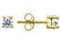 Bella Luce® 4.60ctw Pear Shape Diamond Simulant 18k Over Silver Earrings