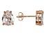Bella Luce® 5.00ctw Pear Shape Diamond Simulant Rose Gold Over Silver Earrings