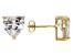 Bella Luce® 9.12ctw Heart Shape Diamond Simulant 18k Over Silver Earrings
