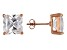 Bella Luce® 14.40ctw Square Diamond Simulant Rose Gold Over Silver Earrings