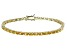 Bella Luce® 11.63ctw Oval Yellow Diamond Simulant 18k Gold Over Silver Bracelet